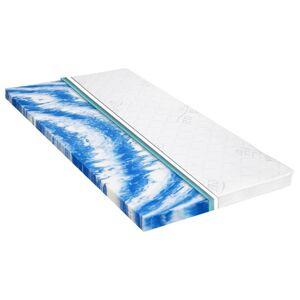 vidaXL Topper saltea, 100 x 200 cm, spumă gel, 7 cm