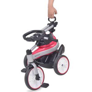 vidaXL Tricicletă pentru copii BMW Roz