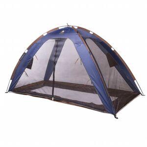 DERYAN Cort de pat cu plasă anti-țânțari, albastru, 200 x 90 x 110 cm