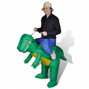 vidaXL Costum gonflabil dinozaur
