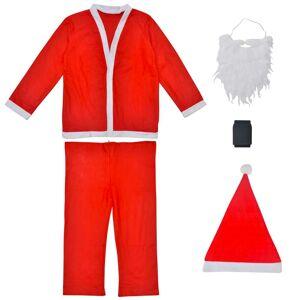 vidaXL Set Costum Moș Crăciun