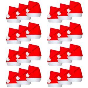 vidaXL 24 Căciuli de Moș Crăciun