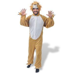 vidaXL Costum de leu pentru carnaval M-L