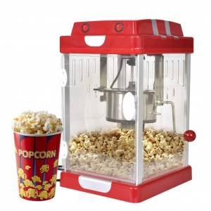 vidaXL Maşină pentru Popcorn 2,5 OZ