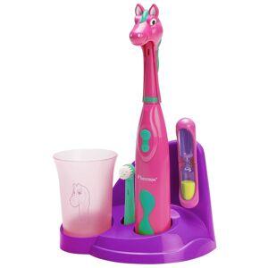 Bestron Set periuță de dinți pentru copii în formă de ponei DSA3500P