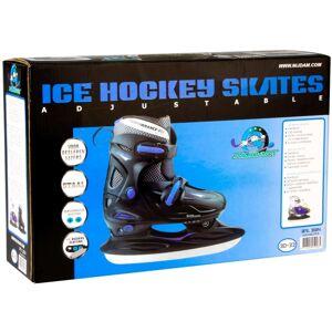 Nijdam Patine de hochei pe gheață, mărime 30-33, 3024-ZWB-30-33