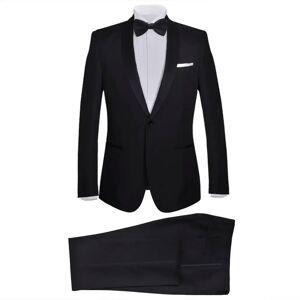 vidaXL Frac/ Costum de seară bărbătesc 2 piese mărimea 50 negru