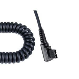 vidaXL Cablu spiralat pentru conectare la PowerPack Metz