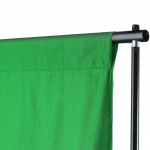 vidaXL Sistem de suport fundal, 500 x 300 cm, verde