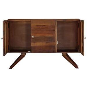 vidaXL Servantă, maro, 110 x 30 x 75 cm, lemn masiv reciclat