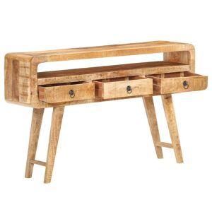 vidaXL Servantă, 120x30x75 cm, lemn masiv de mango neprelucrat