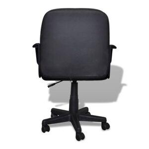 vidaXL Scaun de lux pentru birou 59 x 51 x 81-89 cm Negru
