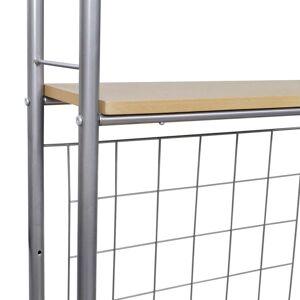 vidaXL Set mobilier tip bar pliabil pentru micul dejun cu 2 scaune