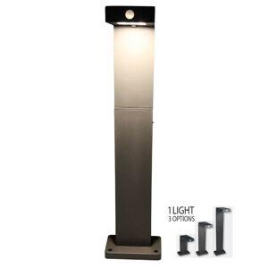 Luxform Lampă solară de grădină cu LED Alberta, antracit 39177