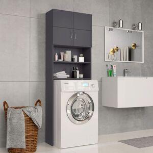vidaXL Dulap mașina de spălat, gri, 64 x 25,5 x 190 cm, PAL