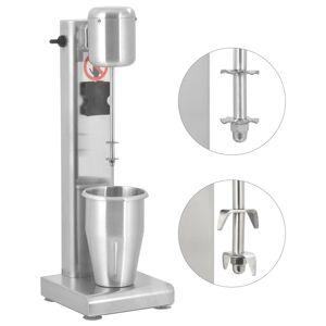 vidaXL Mixer de milkshake, 1 L, oțel inoxidabil
