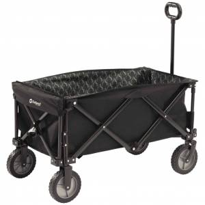 Outwell Cărucior pliabil Cancun Transporter, negru, 470334