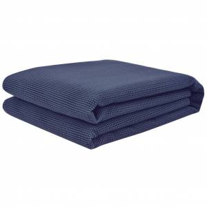 vidaXL Covor pentru cort, albastru, 250 x 400 cm