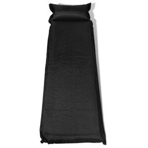 vidaXL Saltea pneumatică 10 x 66 x 200 cm, Neagră