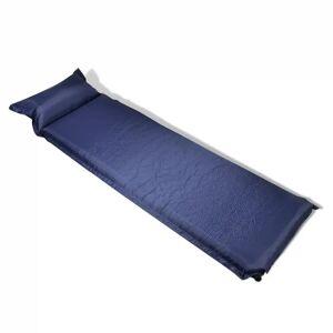 vidaXL Saltea pneumatică 10 x 66 x 200 cm, Albastru