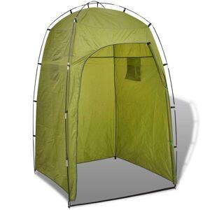 vidaXL Cort pentru duș/toaletă/dressing, verde