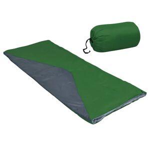 vidaXL Saci de dormit tip plic ușor, 2 buc., verde, 1100 g, 10°C