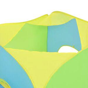 vidaXL Cort de joacă pentru copii cu 100 bile, multicolor