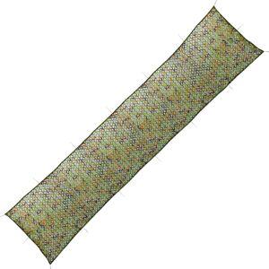vidaXL Plasă de camuflaj cu geantă de depozitare 1,5x7 m