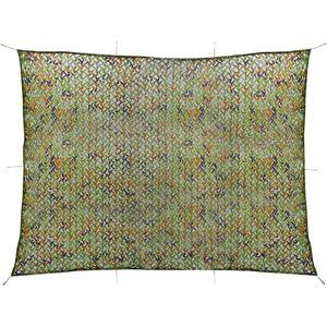 vidaXL Plasă de camuflaj cu geantă de depozitare 3x4 m