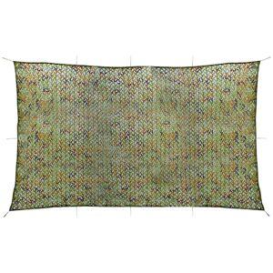 vidaXL Plasă de camuflaj cu geantă de depozitare 3x5 m