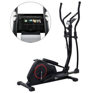 vidaXL Bicicletă eliptică magnetică cu măsurare puls XL