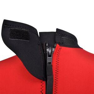 vidaXL Costum bărbătesc scurt sporturi acvatice XXL 185 - 190 cm 2,5 mm