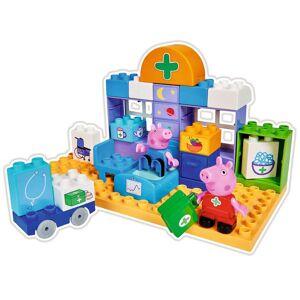 BIG Set de îngrijire medicală Bloxx Peppa Pig, 32 piese