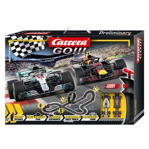 Carrera Set mașinuțe de curse și pistă Max Speed 1:43