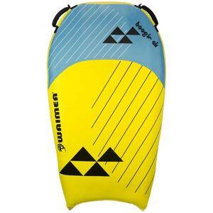 Waimea Placă de surf gonflabilă Boogie Air galben și albastru PVC