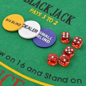 vidaXL Set de poker/blackjack cu 600 de jetoane cu laser din aluminiu