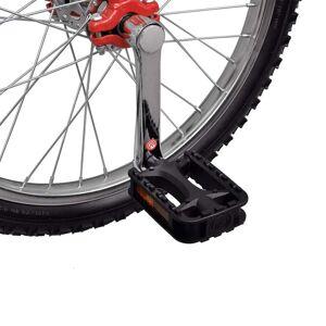 vidaXL Monociclu reglabil roșu 16 inci