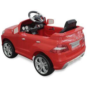 vidaXL Mașină electrică Mercedes Benz ML350 cu telecomandă, roșu
