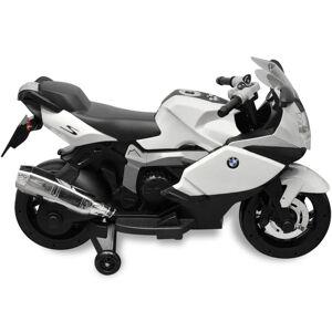 vidaXL Motocicletă electrică pentru copii BMW 283, 6V, alb