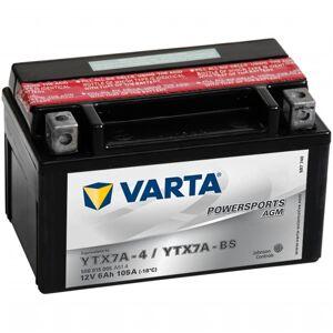 Varta Baterie  pentru motocicletă Powersports AGM YTX7A-4 / YTX7A-BS