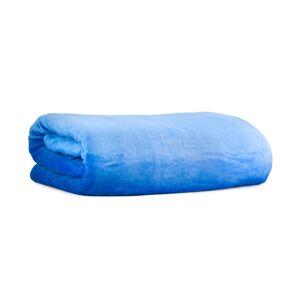 Patura fleece, 200x230 cm, albastru