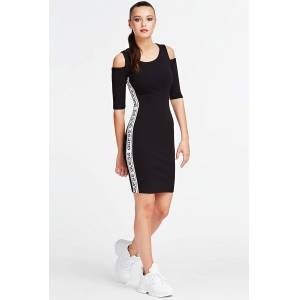 Guess rochie neagra Sideband Dress - S