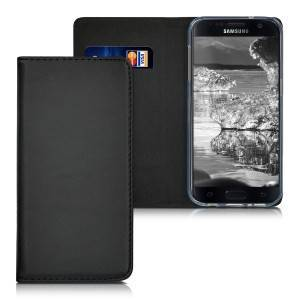 kwmobile Carcasa Flip pentru Samsung Galaxy S7 - negru