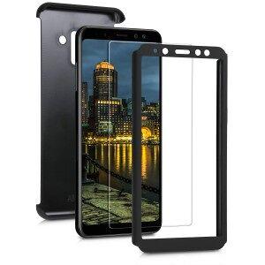 kwmobile Husa pentru Samsung Galaxy A8 (2018) - negru