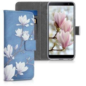 kwmobile Husa Flip pentru Samsung Galaxy J6+ - gri