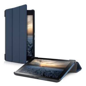 kwmobile Husa subțire pentru Lenovo Tab3 8 - albastru inchis
