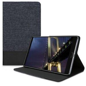 kwmobile Husa Flip pentru Huawei MediaPad M5 8 - albastru