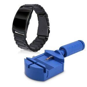 kwmobile Curea pentru Samsung Gear Fit2 / Gear Fit 2 Pro - negru