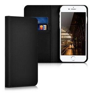 kalibri Husa Flip din piele pentru Apple iPhone 7 / 8 - negru