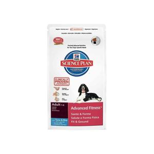HILL'S Science Plan Canine Adult Advanced Fitness - Hrană uscată pentru câini activi, foarte activi cu ton și orez 3 kg